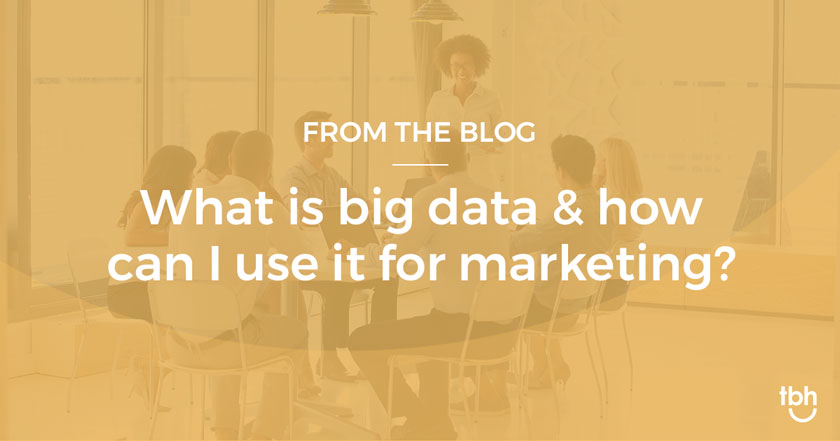 Big Data: What it is and 3 quick ways to incorporate it into your marketing strategy