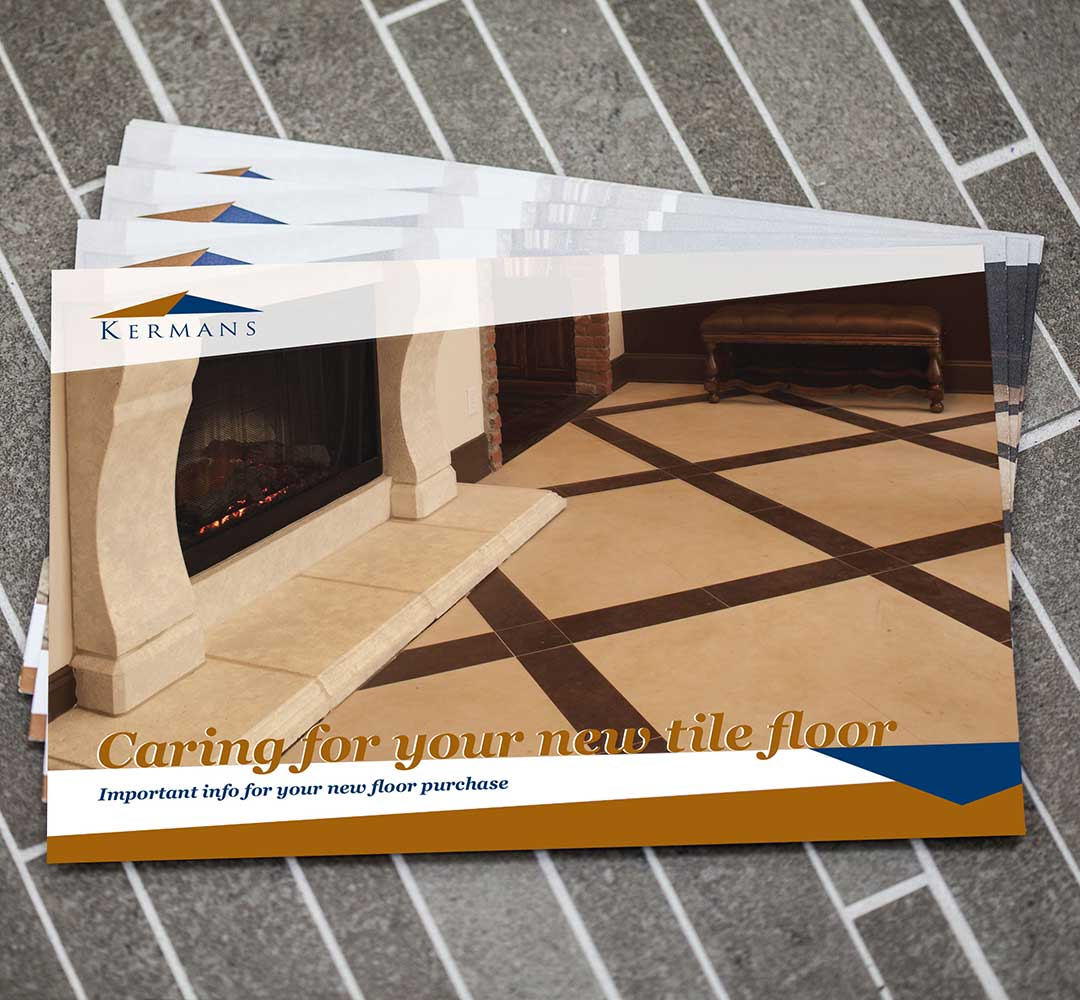 Graphic design for Kermans Flooring