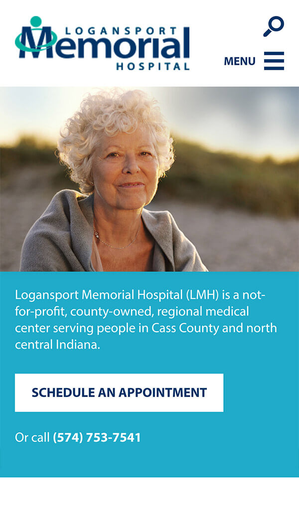 Logansport Memorial Hospital mobile preview